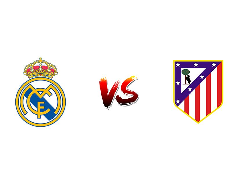 Футбол. Испания. Примера дивизион. «Реал Мадрид» (Мадрид) — «Атлетико» (Мадрид)