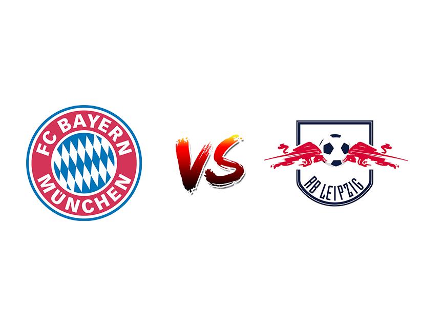 Футбол. Германия. Бундеслига. «Бавария» (Мюнхен) — «РБ Лейпциг» (Лейпциг)