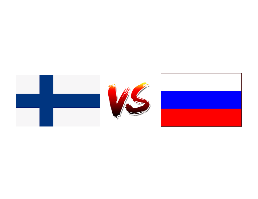 Хоккей.  Евротур. Шведские Игры.  Финляндия — Россия