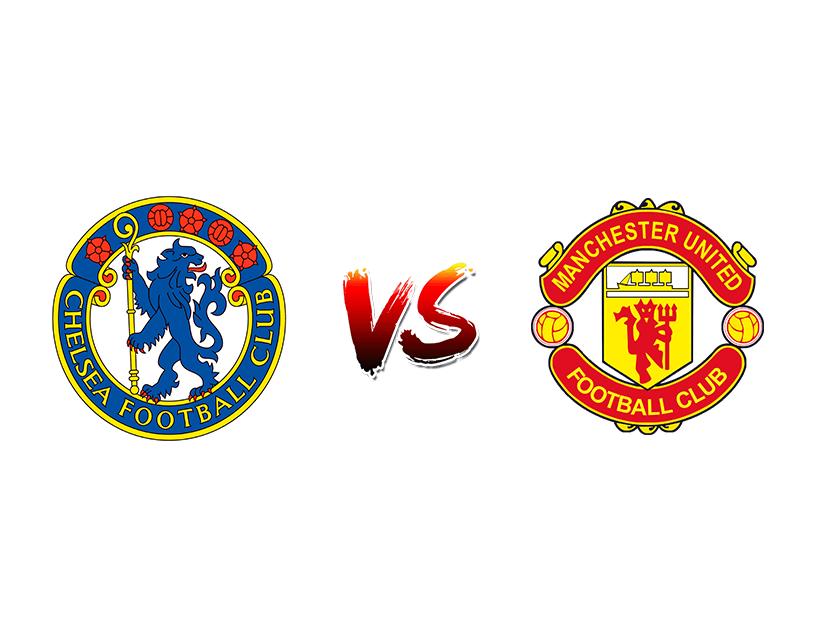 Футбол. Англия. Премьер-лига. «Челси» (Лондон) — «Манчестер Юнайтед» (Манчестер)
