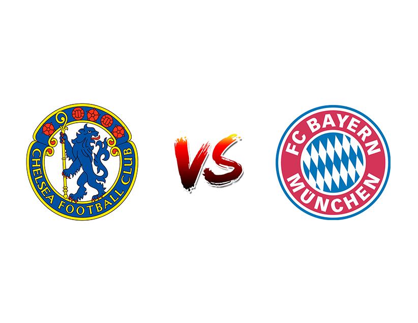 Футбол. Лига чемпионов UEFA. 1/8 финала. Первые матчи. «Челси» (Лондон) — «Бавария» (Мюнхен)