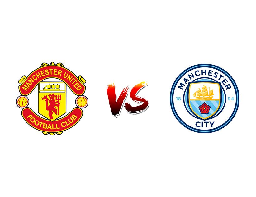 Футбол. Англия. Премьер-лига. «Манчестер Юнайтед» (Манчестер) — «Манчестер Сити» (Манчестер)