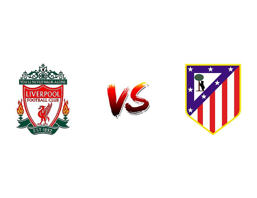Футбол. Лига чемпионов UEFA. 1/8 финала. Ответные матчи. «Ливерпуль» (Ливерпуль) — «Атлетико Мадрид» (Мадрид)