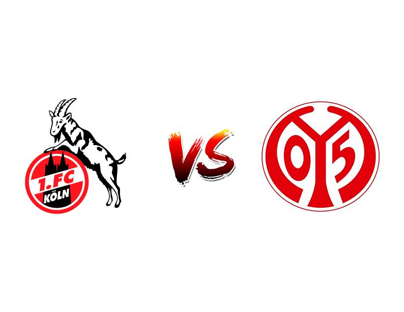 Футбол. Германия. Бундеслига. «Кельн» (Кельн) —«Майнц» (Майнц)