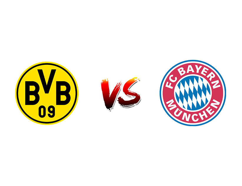 Футбол. Германия. Бундеслига. «Боруссия Дортмунд» (Дортмунд) — «Бавария» (Мюнхен)