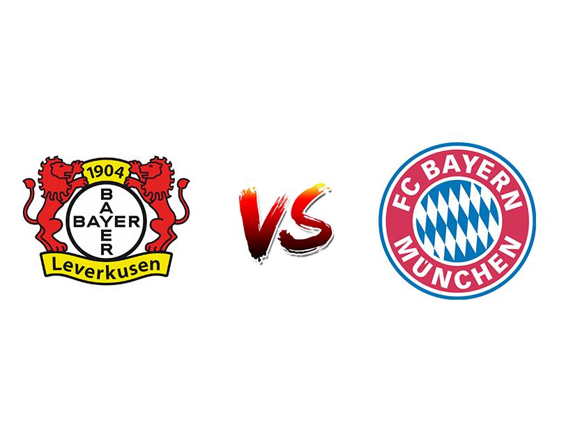 Футбол. Германия. Бундеслига. «Байер 04» (Леверкузен) — «Бавария» (Мюнхен)