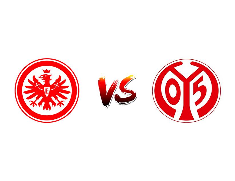 Футбол. Германия. Бундеслига. «Айнтрахт Франкфурт» (Франкфурт) — «Майнц 05» (Майнц)