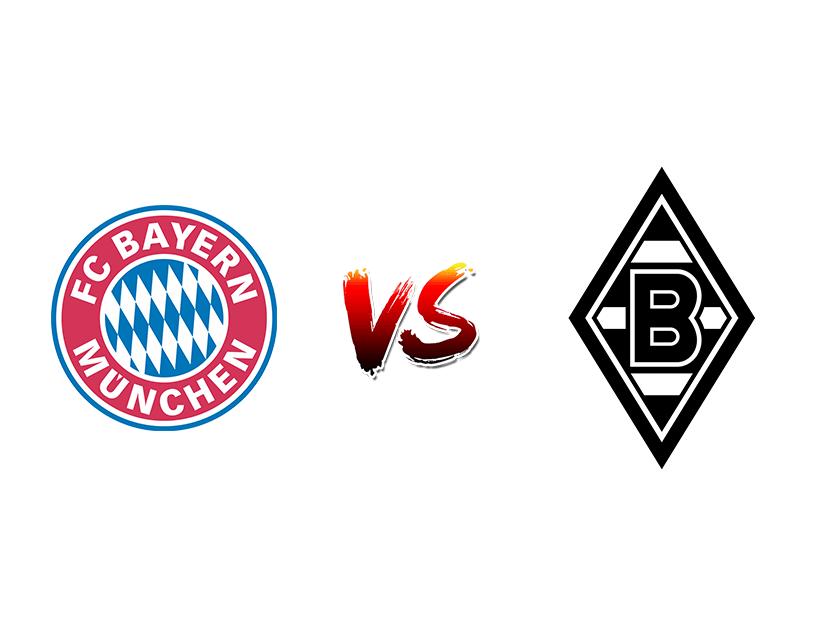 Футбол. Германия. Бундеслига. «Бавария» (Мюнхен) —  «Боруссия Менхенгладбах» (Менхенгладбах)
