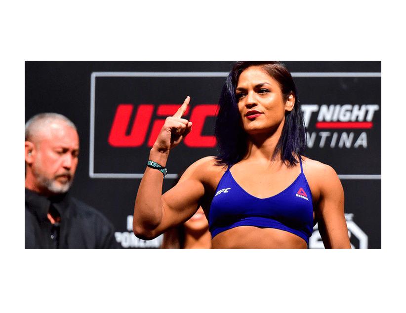 Турнир UFC 250, Лас Вегас, США. Джессика Ай — Синтия Кальвильо