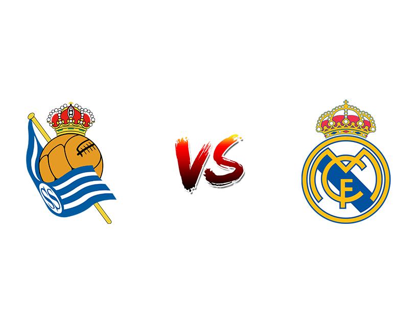 Футбол. Испания. Примера дивизион. «Реал Сосьедад» (Сан-Себастьян) — «Реал Мадрид» (Мадрид)