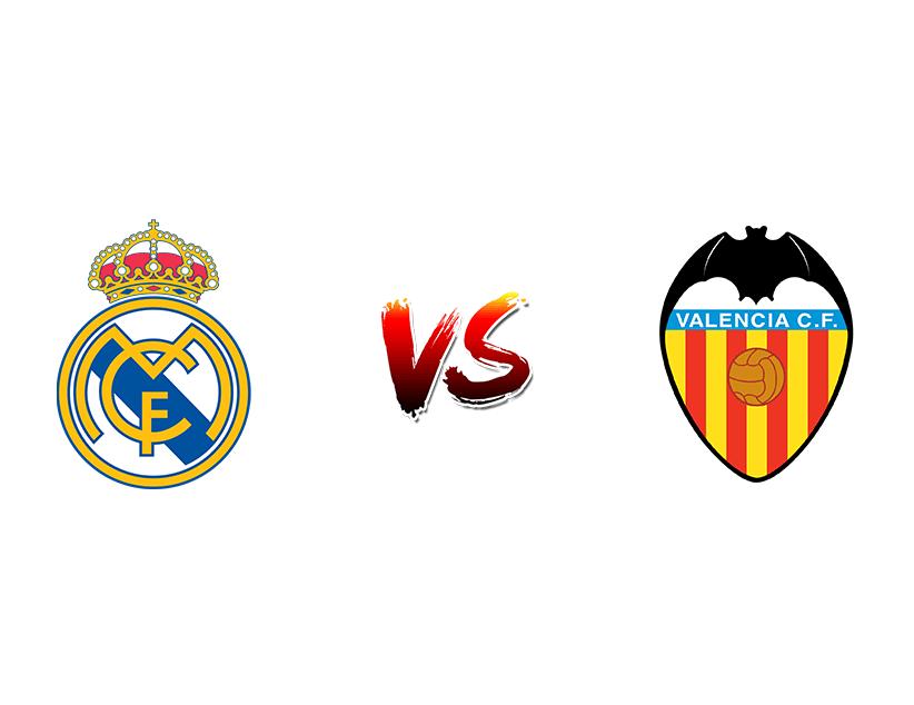 Футбол. Испания. Примера дивизион. «Реал Мадрид» (Мадрид) — «Валенсия» (Валенсия)