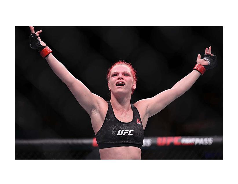 Турнир UFC ON ESPN 11, Лас Вегас, США. Кортни Кейси — Джиллиан Робертсон
