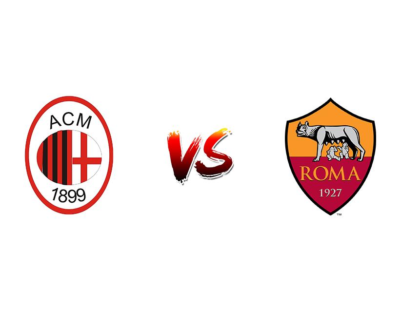 Футбол. Италия. Серия А. «Милан» (Милан) — «Рома» (Рим)