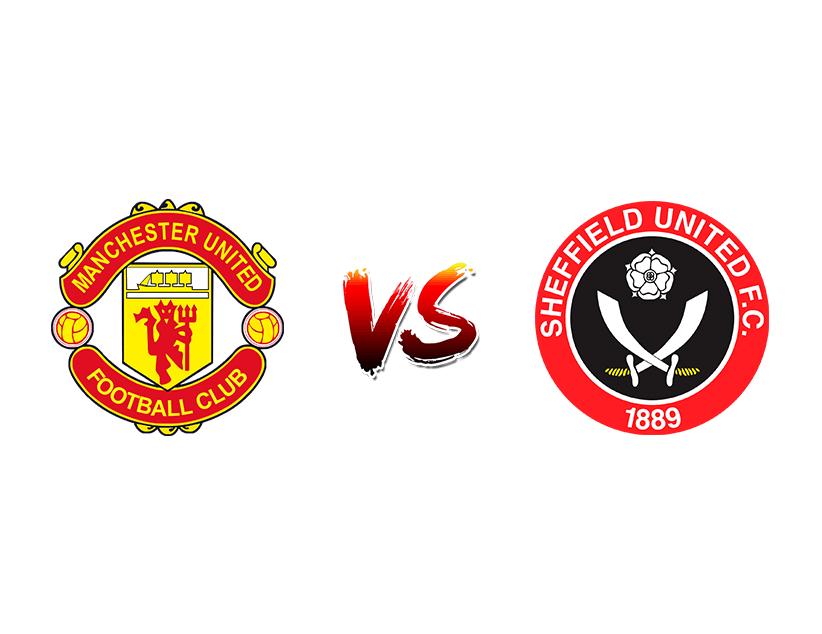 Футбол. Англия. Премьер-лига. «Манчестер Юнайтед» (Манчестер) — «Шеффилд Юнайтед» (Шеффилд)