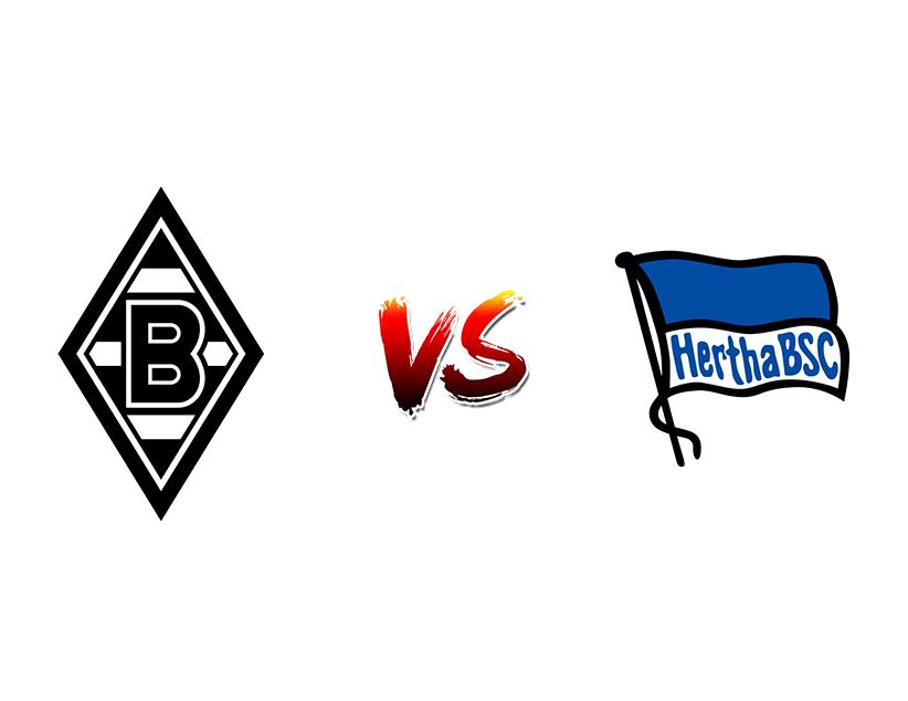 Футбол. Германия. Бундеслига. «Боруссия Менхенгладбах» (Менхенгладбах) — «Герта» (Берлин)