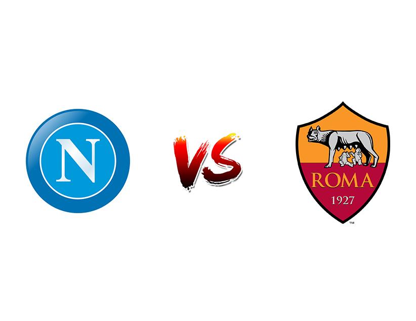 Футбол. Италия. Серия А. «Наполи» (Неаполь) — «Рома» (Рим)