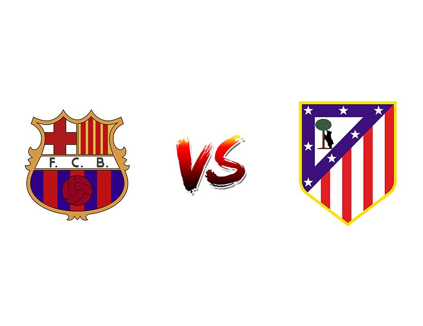 Футбол. Испания. Примера дивизион. «Барселона» (Барселона) — «Атлетико Мадрид» (Мадрид)
