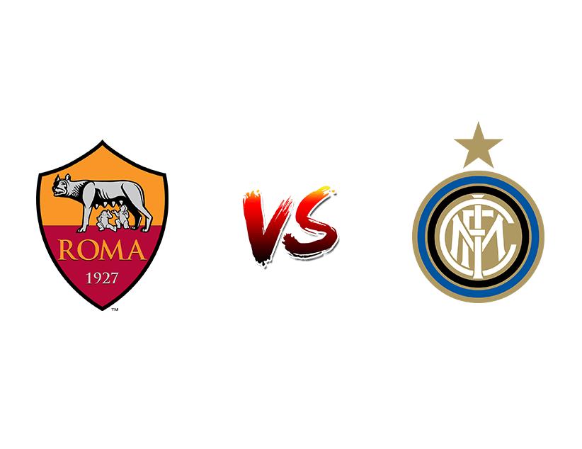 Футбол. Италия. Серия А. «Рома» (Рим) – «Интер» (Милан)