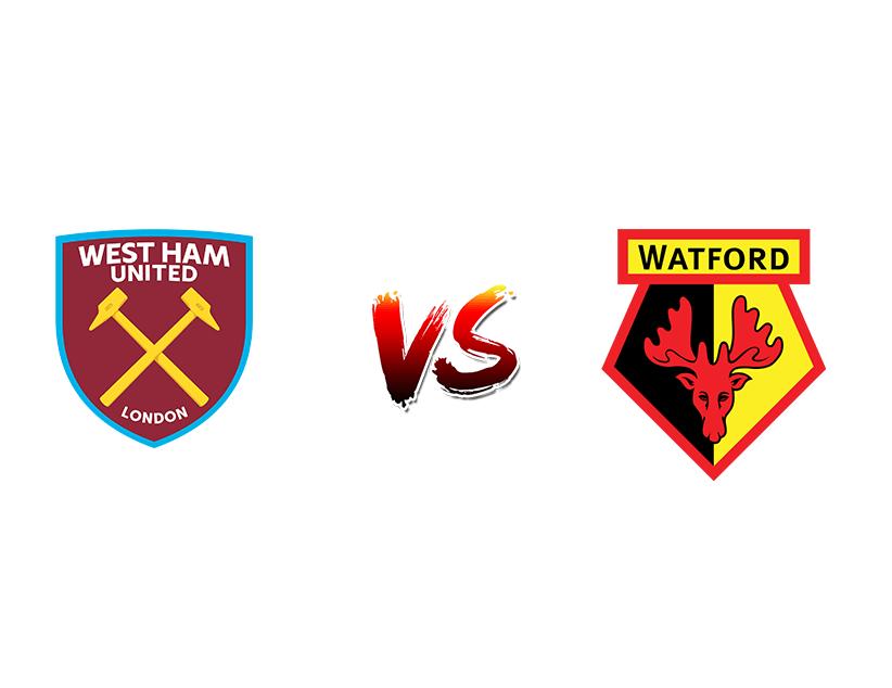 Футбол. Англия. Премьер-лига. «Вест Хэм» (Лондон) — «Уотфорд» (Уотфорд)