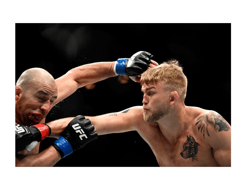Турнир UFC ON ESPN 15, Абу Даби, Александр Густафссон — Фабрисио Вердум