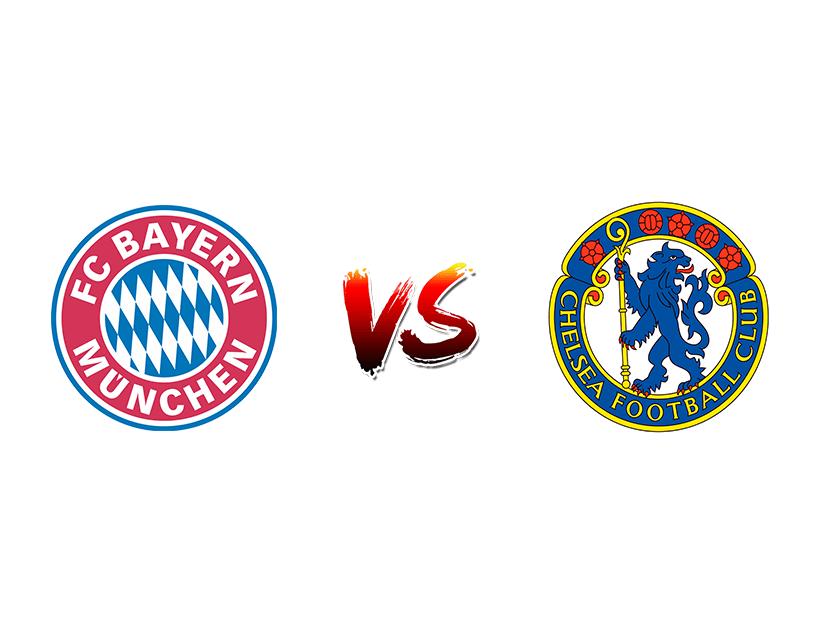 Футбол. Лига чемпионов. «Бавария» (Мюнхен) — «Челси» (Лондон)