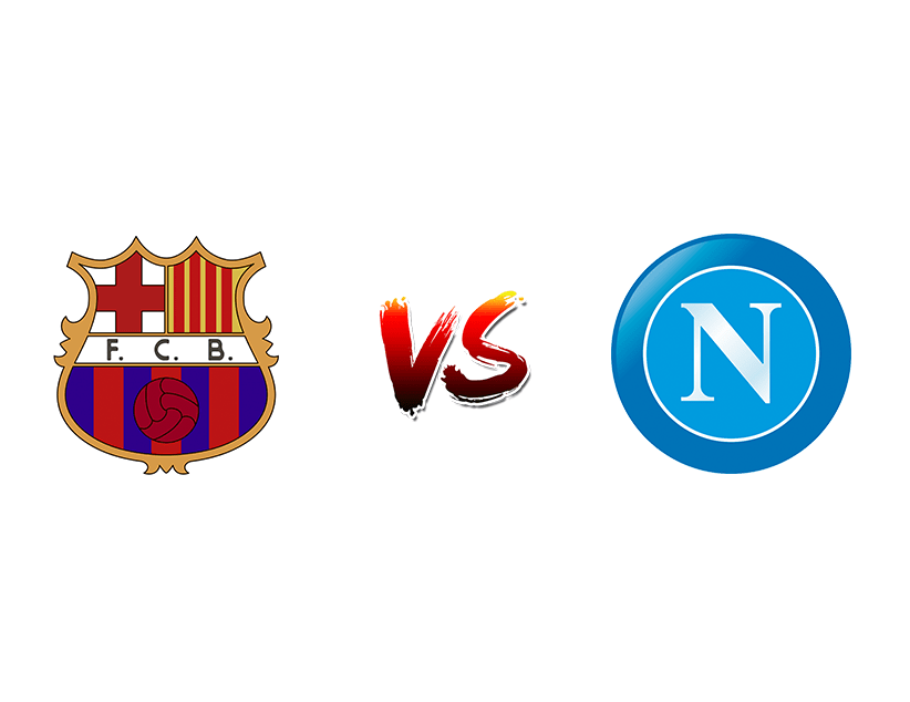 Футбол. Лига чемпионов. «Барселона» (Барселона) — «Наполи» (Неаполь)
