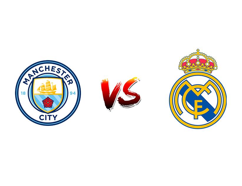 Футбол. Лига чемпионов. «Манчестер Сити» (Манчестер) — «Реал Мадрид» (Мадрид)