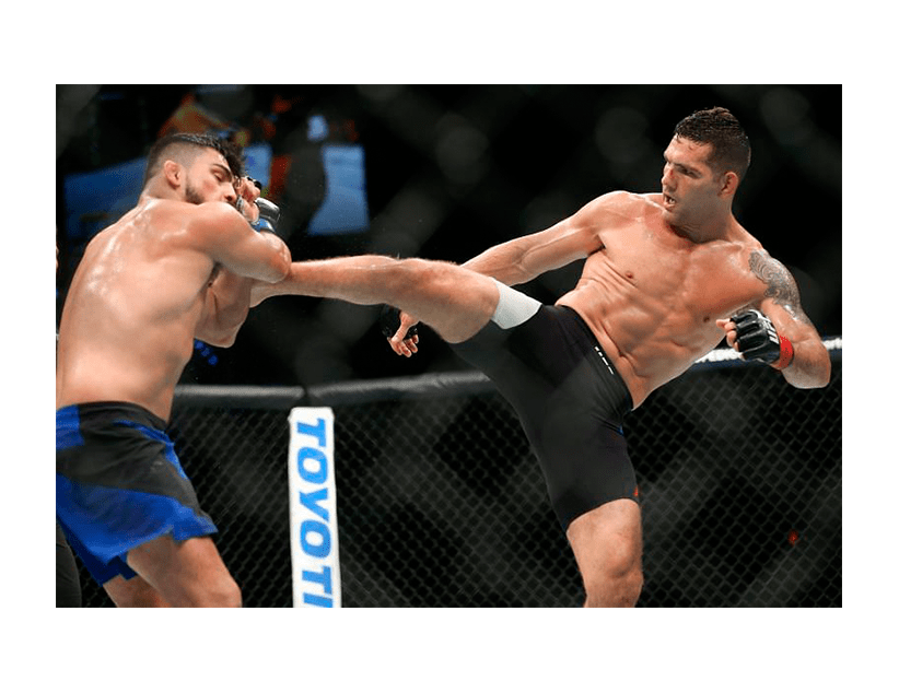 Турнир UFC ON ESPN +32, Лас Вегас. Крис Вайдман — Омари Ахмедов