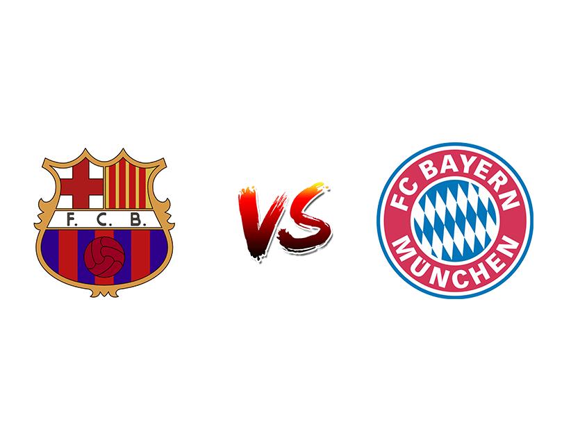 Футбол. Лига чемпионов. «Барселона» (Барселона) — «Бавария» (Мюнхен)