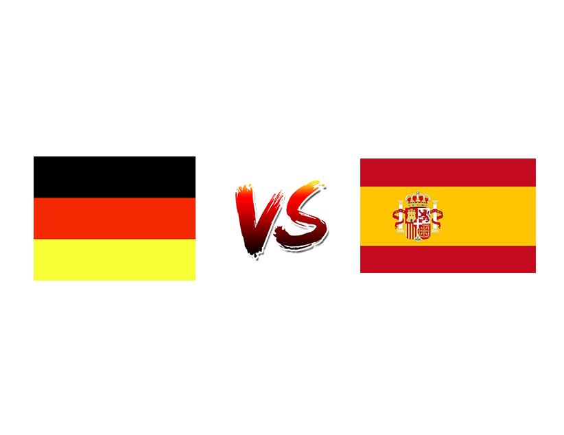 Футбол. Лига наций UEFA. Лига А. Групповой этап. Сборная Германии — Сборная Испании