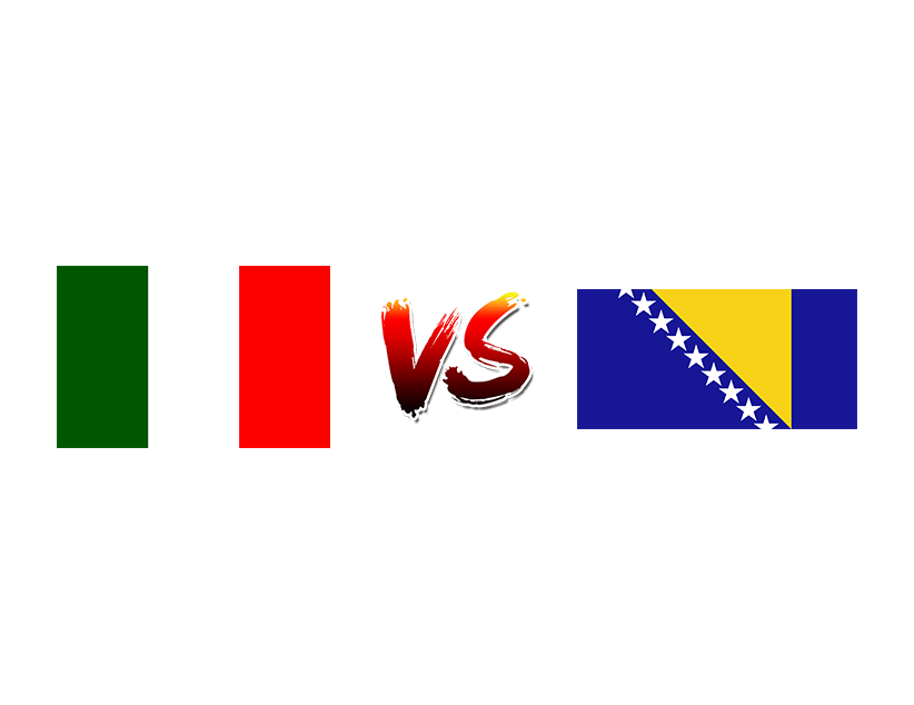 Футбол. Лига наций UEFA. Лига А. Групповой этап. Сборная Италии — Сборная Боснии и Герцеговины
