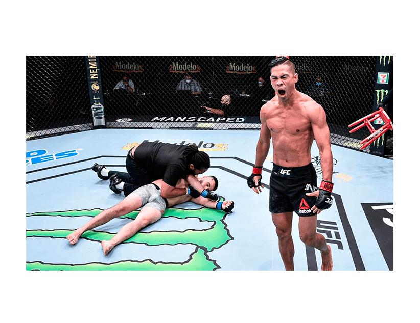 Турнир UFC ON ESPN, США. Тайсон Нэм — Джером Ривера