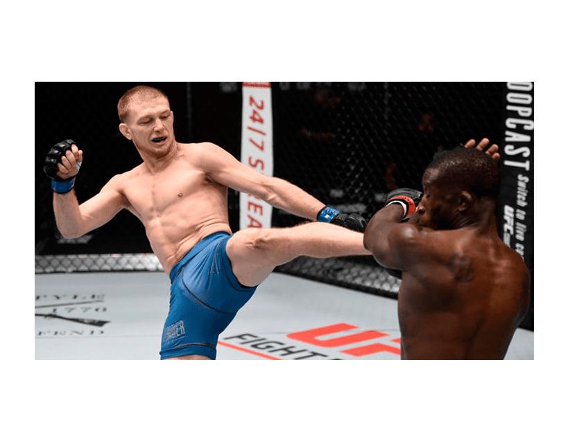 Турнир UFC ON ESPN, Бойцовский Остров, ОАЭ. Кейси Кенни — Хейли Алатенг