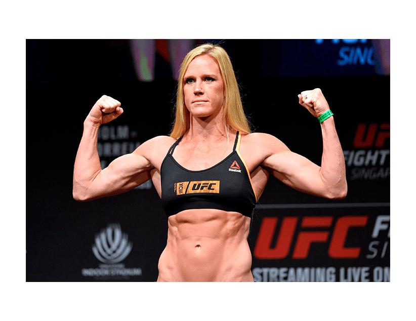 Турнир UFC ON ESPN, Бойцовский Остров, ОАЭ. Холли Холм — Ирен Алдана
