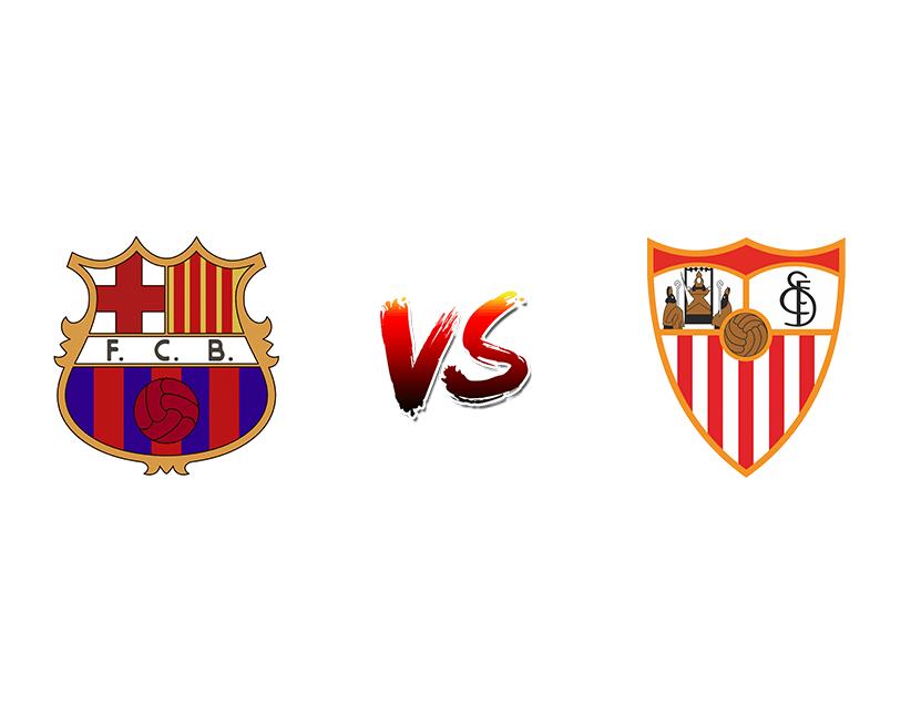 Футбол. Испания. Примера дивизион. «Барселона» (Барселона) — «Севилья» (Севилья)