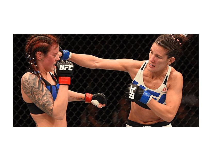 Турнир UFC ON ESPN, США, Лас-Вегас. Кортни Кейси — Присцила Кахоэйра