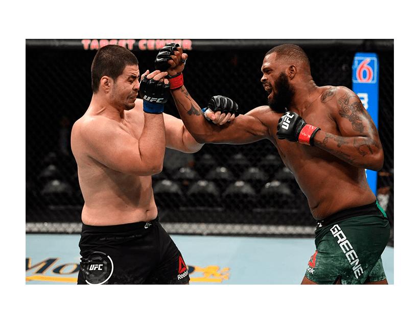Турнир UFC ON ESPN, США, Лас-Вегас. Грег Харди — Морис Грин
