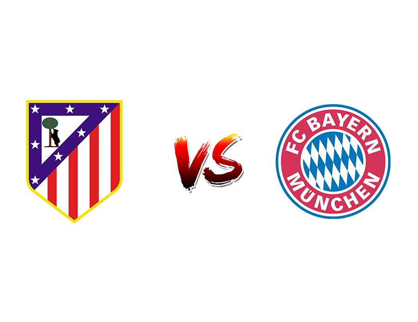 Футбол. Лига чемпионов UEFA. Групповой этап. «Атлетико Мадрид» (Мадрид) — «Бавария» (Мюнхен)
