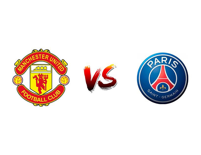 Футбол. Лига чемпионов UEFA. Групповой этап. «Манчестер Юнайтед» (Манчестер) — «ПСЖ» (Париж)
