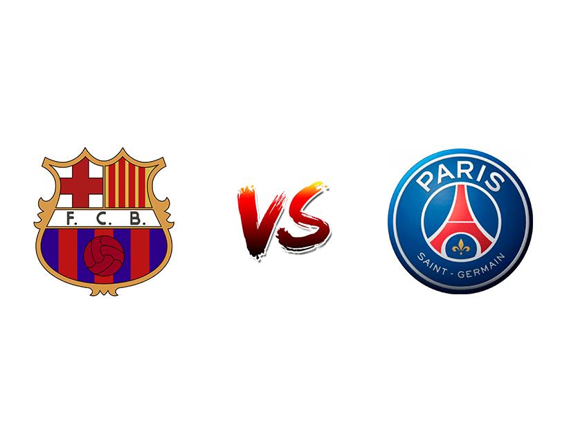 Футбол. Лига чемпионов UEFA. Групповой этап. «Барселона» (Барселона) — «ПСЖ» (Париж)