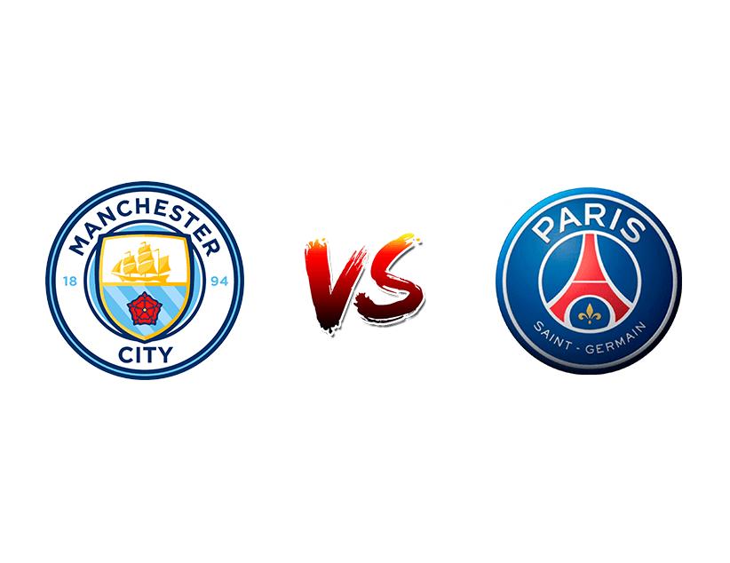 Футбол. Еврокубки. «Манчестер Сити» (Манчестер) — «ПСЖ» (Париж)