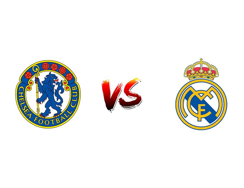 Футбол. Еврокубки. «Челси» (Лондон) — «Реал Мадрид» (Мадрид)