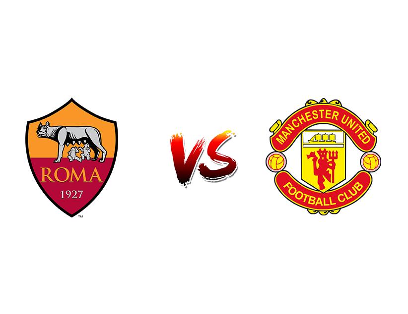 Футбол. Еврокубки. «Рома» (Рим) — «Манчестер Юнайтед» (Манчестер)